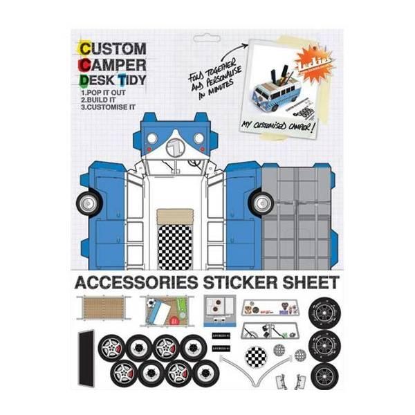 Pot-a-crayon-custom-camper-desk-tidy-porte-cle-cachette-a-billets