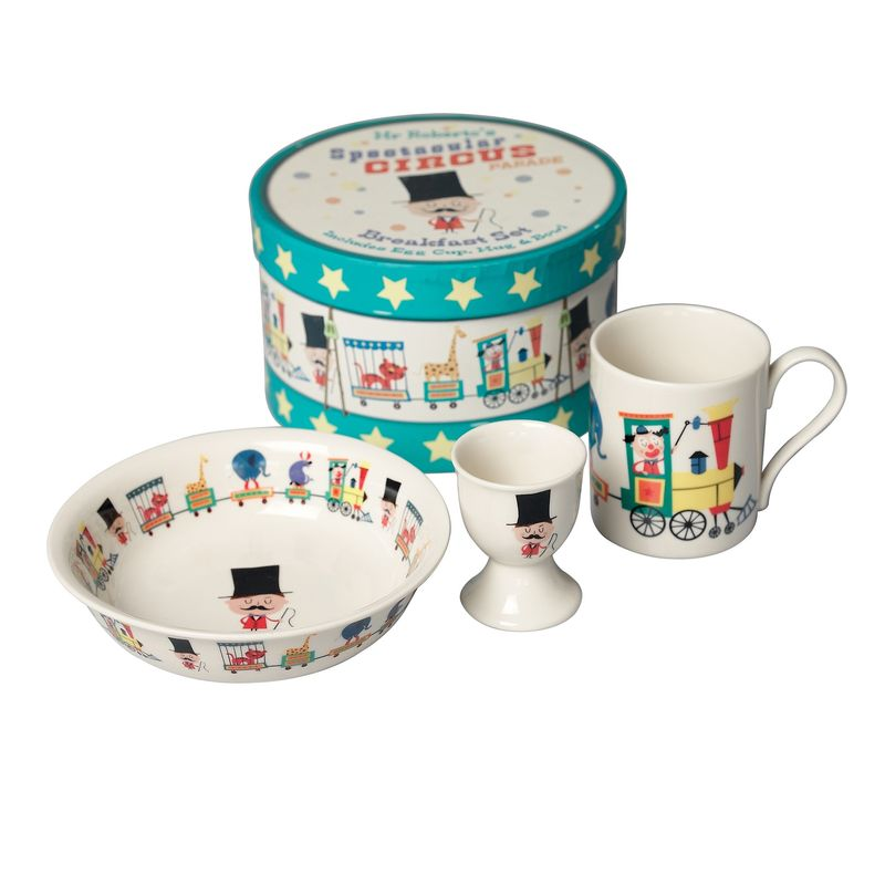 Breakfast set circus