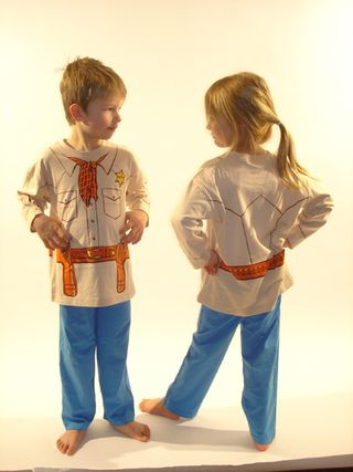 Pyjama-cowboy