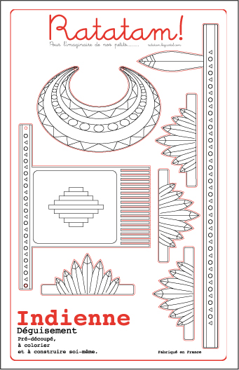 Indienne-carton