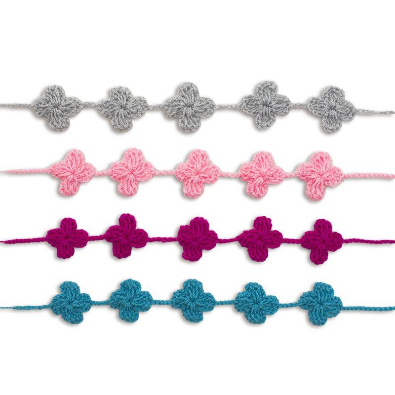 Crochet bracelet mix