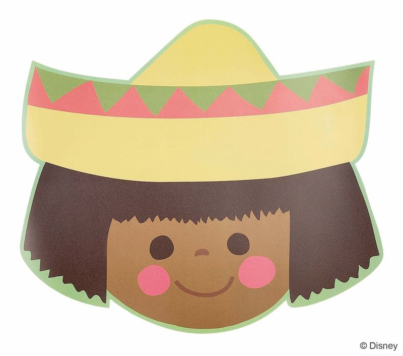 Soft Placemat Mexican Girl