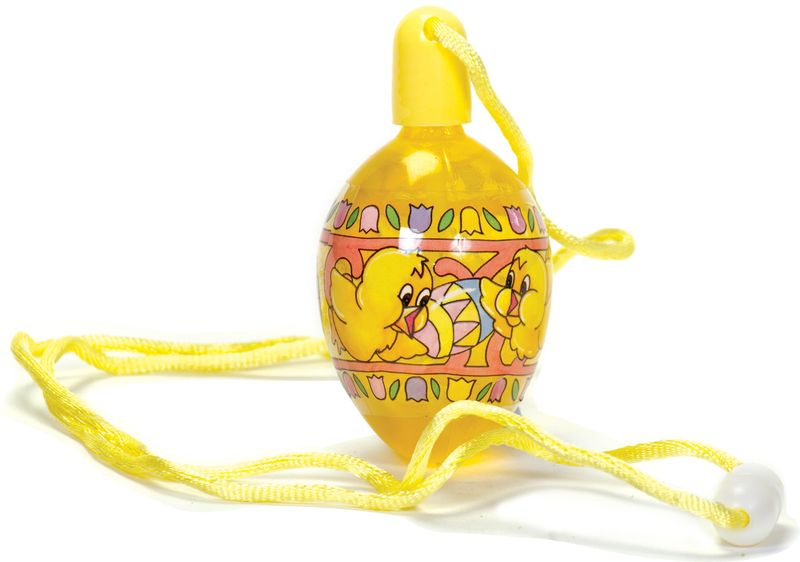 Ref 17017 easter bubbles jaune
