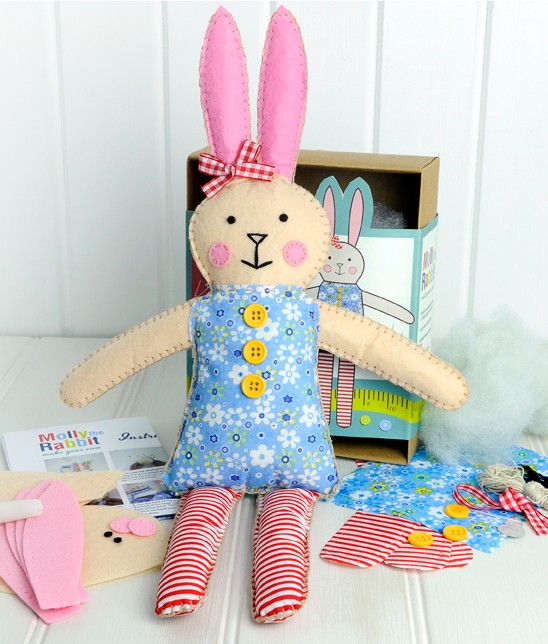 Lapinrabit-felt-craft