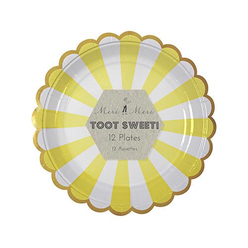 Assiette-jaune-merimeri-deco-anniversaire-paris