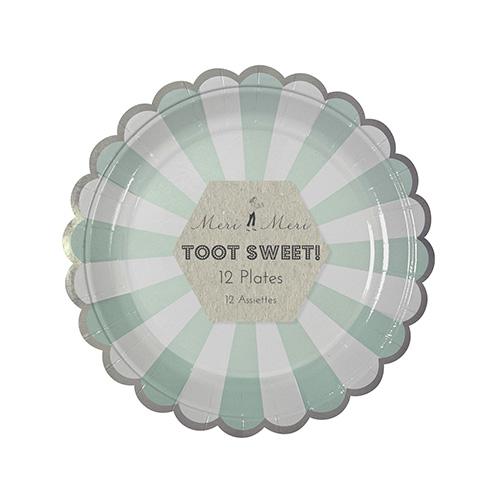 Assiette-verte-vaisselle-anniversaire-deco-paris