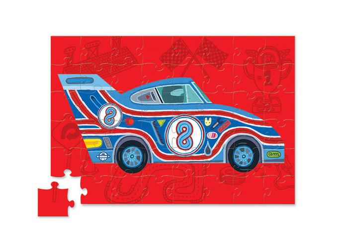 Voiture-de -course-puzzle-rouge-jeu