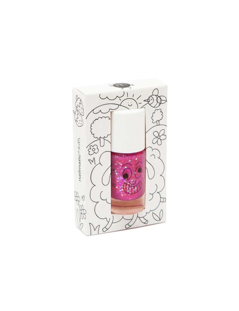 Vernis-à-ongles-pour-enfants-rose-pailleté-sheepy-nailmatic-kids