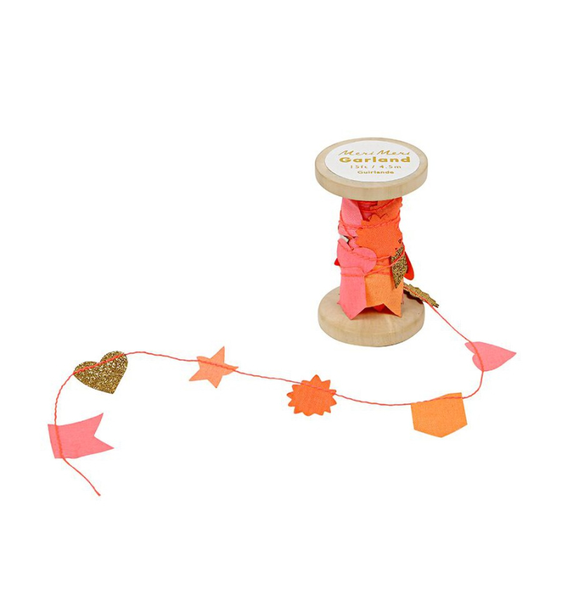 Mini-guirlande-fanions-corail-et-or-meri-meri-bobine