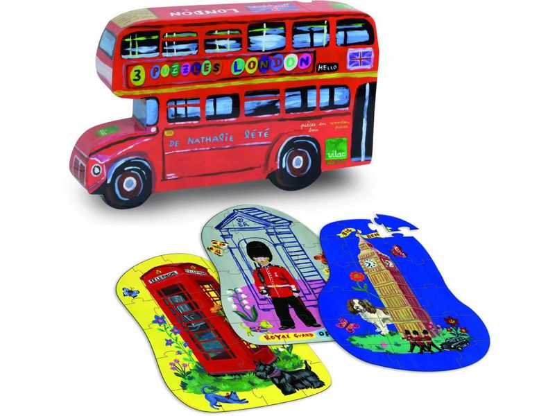 Puzzles LONDON-15-29-pieces-3-ans-et