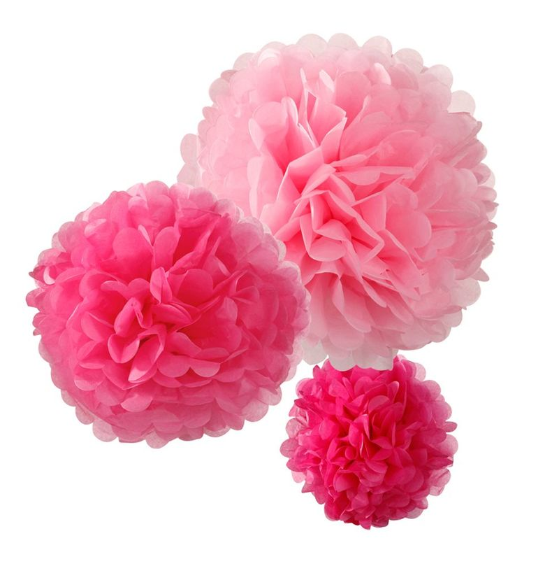 Pompons-roses-boutique -enfant-paris