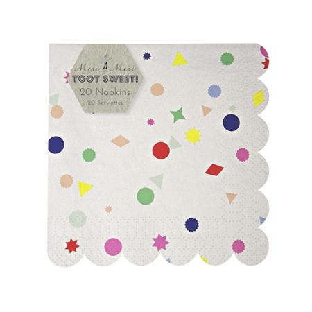 Confettis-serviettes