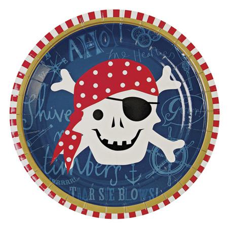 Pirate-plate