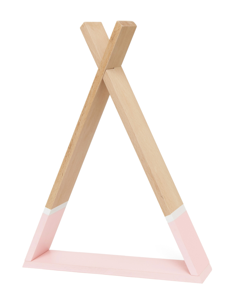 Tipi shelf pink TSH2