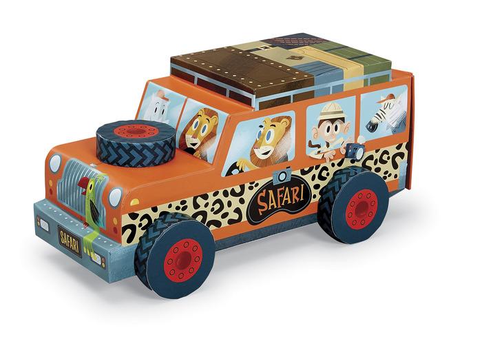 Safari-puzzle-jeu