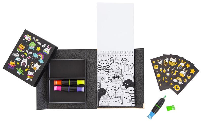 Kit-creatif-neon-feutres-fluo-enfant-paris