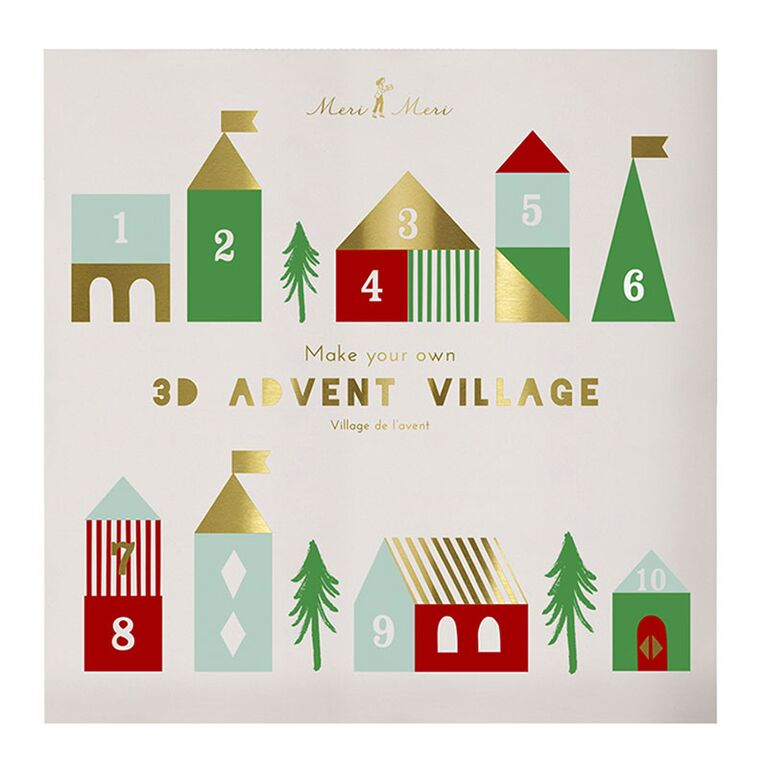 Advent calendrier maison