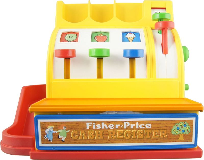 FISHER PREICE-CAISSE-ENREGISTREUSE