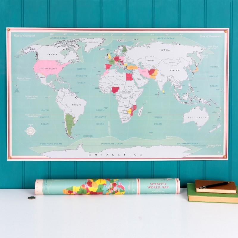 Carte-du-monde-à-gratter